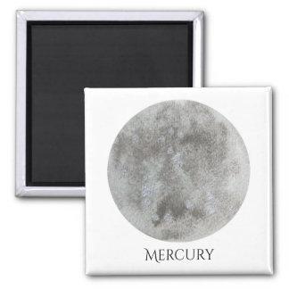 Mercury Planet Watercolor Magnet