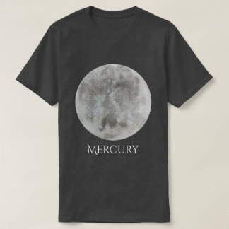 Mercury Planet Watercolor Men's Shirt