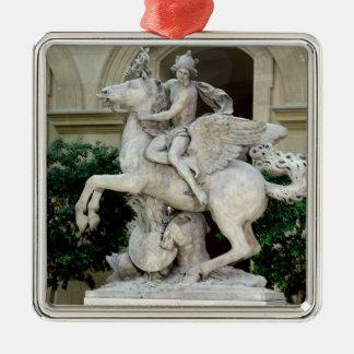 Mercury riding Pegasus Christmas Ornament