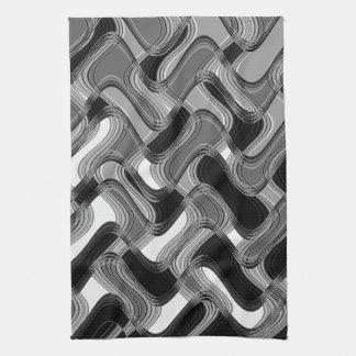 Mercury & Sable Kitchen Towel by Artist C.L. Brown
