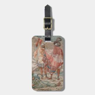 Mercy: David Spareth Saul's Life, 1854 Luggage Tag