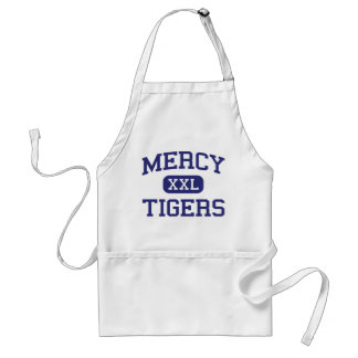 Mercy - Tigers - High - Middletown Connecticut Adult Apron