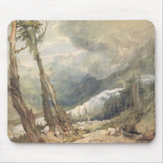 Mere de Glace, in the Valley of Chamouni, Switzerl Mouse Pad