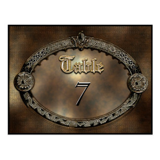 Meredith Dora Table Number Card