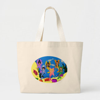 Merfairies in Ocean with Dolphins Bag