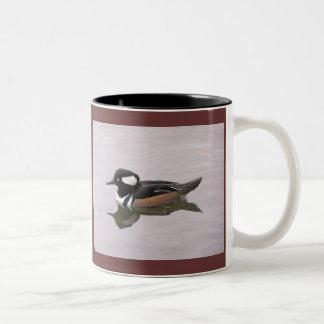 Merganser Drakes Two-Tone Mug
