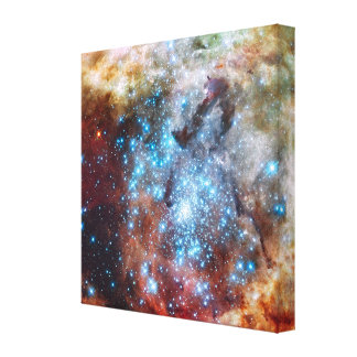 Merging Clusters Canvas Print