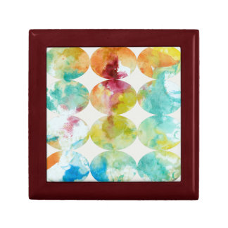 Merging Color II Small Square Gift Box