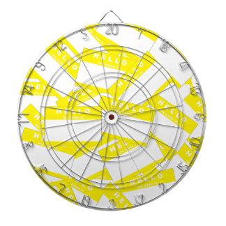 Merhaba Ivory (Yellow) Dartboard