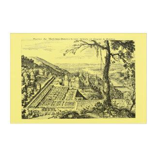 MERIAN: Heidelberg Castle and Royal Gardens 1620 Acrylic Print