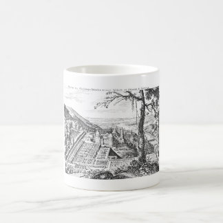 MERIAN: Heidelberg Castle and Royal Gardens 1620 Coffee Mug