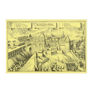 MERIAN: Heidelberg Castle and Royal Gardens ~1645 Acrylic Print