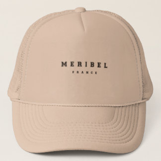 Meribel France Trucker Hat