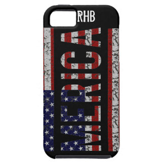 MERICA - American Pride Slang USA Flag iPhone 5 Cover