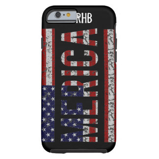 MERICA - American Pride Slang USA Flag Tough iPhone 6 Case