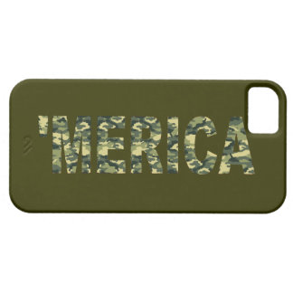 'MERICA Camo iPhone 5 Case