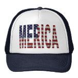 'MERICA - Grunge USA Flag Cap