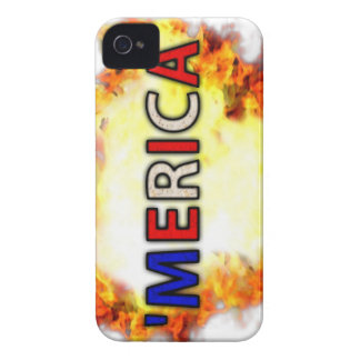 'MERICA iPhone 4 Case-Mate CASE