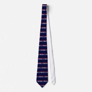 'MERICA Red White & Blue Necktie