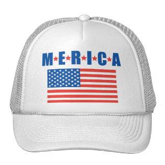 Merica Stars and Stripes hat