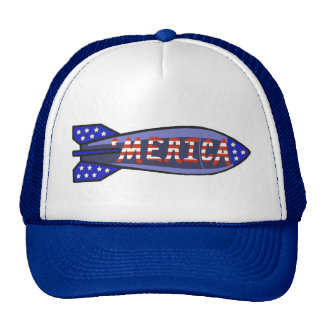 'Merica Stars and Stripes Rocket Independence Day Cap