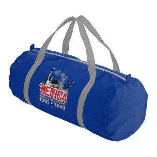'Merica - Undisputed World War Champs Gym Duffel Bag