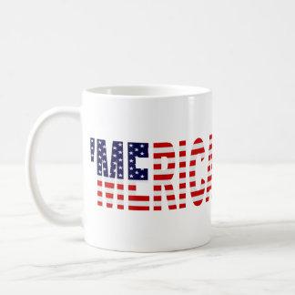 'MERICA US Flag Coffee Mug