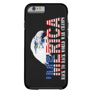 'MERICA US Flag World War Champs iPhone 6 case