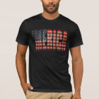 'MERICA Vintage Distressed US Flag T-shirt