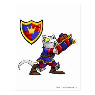 Meridell Team Captain 1 Postcard