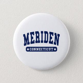 Meriden Connecticut College Style tee shirts 6 Cm Round Badge