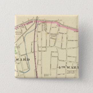Meriden south 15 cm square badge
