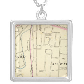 Meriden south silver plated necklace