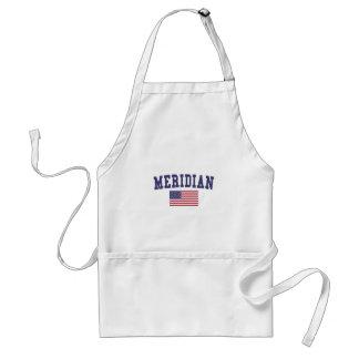 Meridian ID US Flag Standard Apron