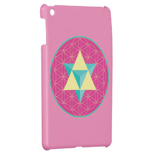 Merkaba with Flower of life iPad Mini Cover