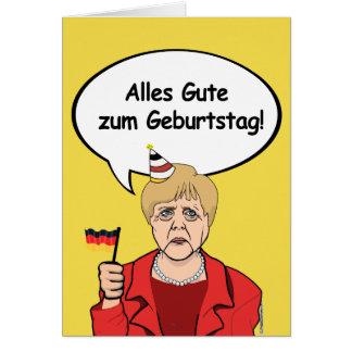 Merkel Birthday: Alles Gute zum Geburtstag! Card