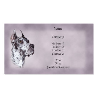 Merle Great Dane Business Card