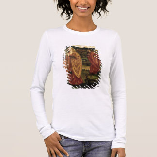 Merlin and Nimue from 'Morte d'Arthur', 1861 Long Sleeve T-Shirt