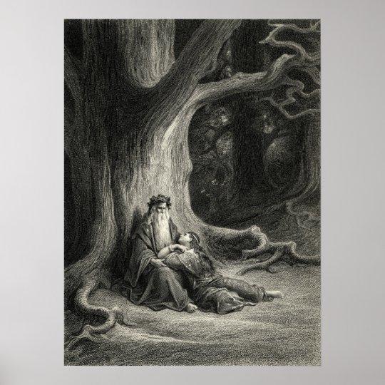 Merlin and Vivien Poster