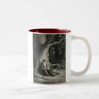Merlin and Vivien Two-Tone Coffee Mug