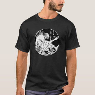 Merlin Art Nouveau fantasy T-Shirt
