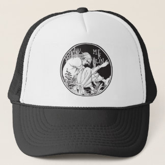 Merlin Aubrey Beardsley Trucker Hat