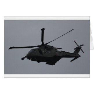 Merlin Helicopter from RAF Benson, United Kingdom Card