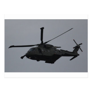 Merlin Helicopter from RAF Benson, United Kingdom Postcard
