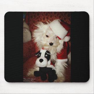 """Merlin Meets """"Santa and his Reindeer"""" Mousepads"""