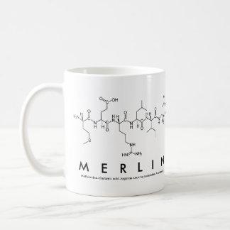 Merlin peptide name mug