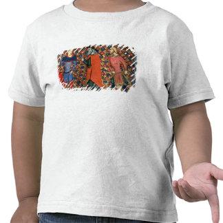 Merlin tutoring Arthur T-shirts