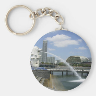 Merlion Key Ring