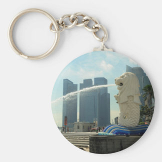Merlion Sculpture Singapore Key Ring