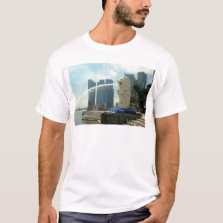 Merlion Sculpture Singapore T-Shirt